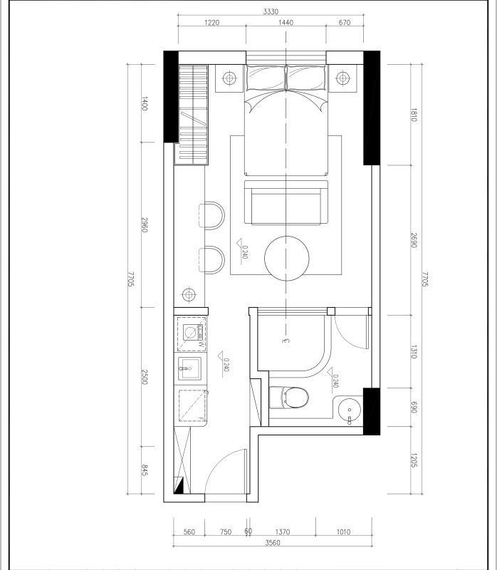 有限的柜体,做无限的v有限现代住宅设计空间图片