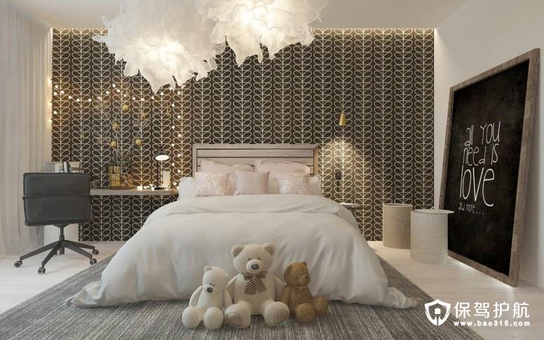 这间小女孩的卧室设计居然这么时髦!