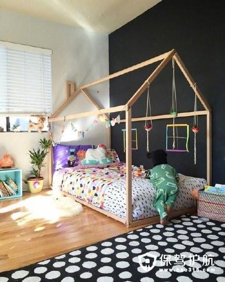 房装修的创意, 既让孩子觉得新意满满,看着有趣舒服,完美适合二胎家庭