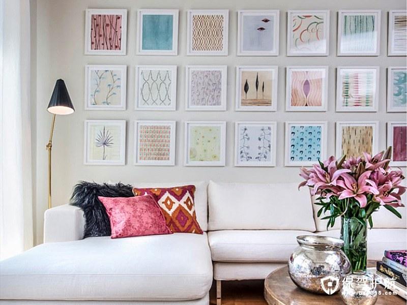如何安排客厅装饰画?这里有一些想法和技巧安利给你!