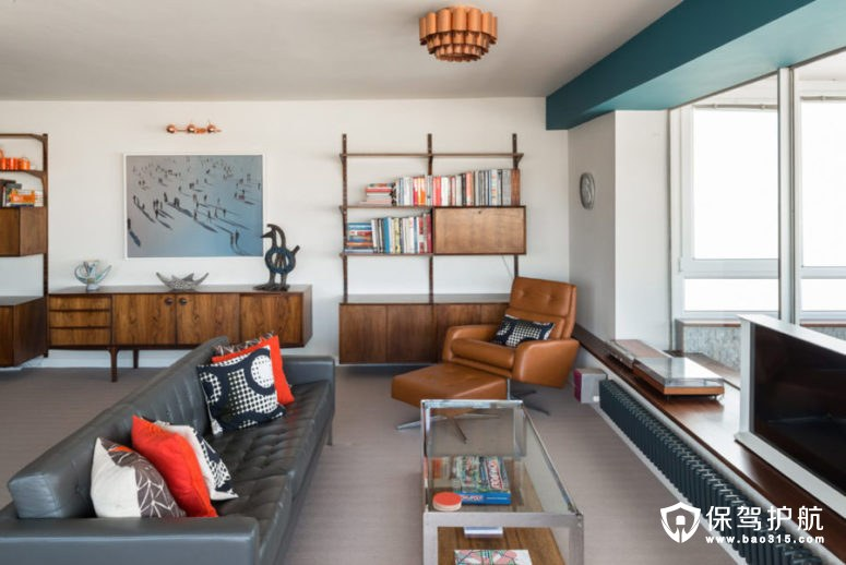 中世纪现代风海景公寓!