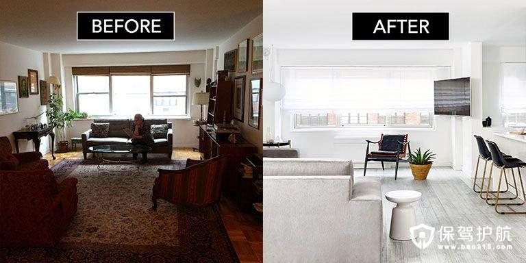 这对业主夫妇竟然动手将一套小户型公寓改造成纽约最棒的公寓!