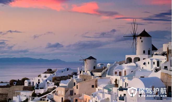地中海建筑风格,美的让人不想离开