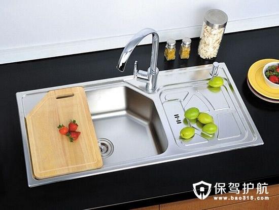 【干货】教你如何选对厨房水槽