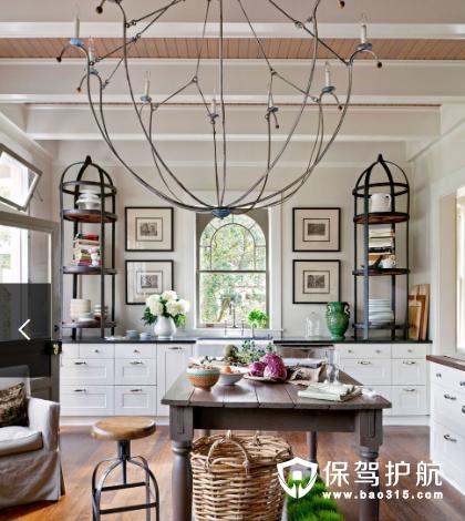 【干货】10个厨房吊灯,营造生活小情调