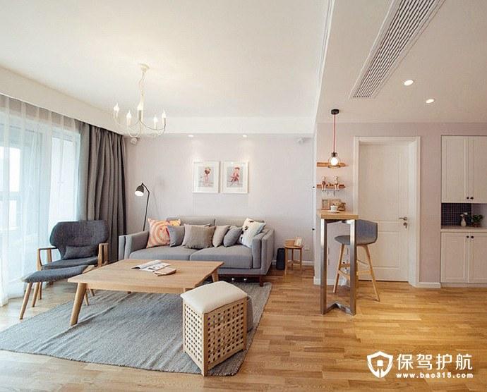 木地板搭配木色元素房子装修图片