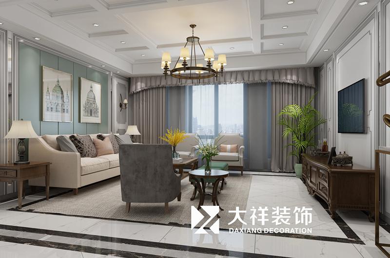 龙溪翡翠170方美式风格