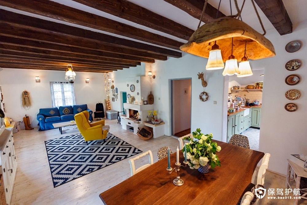 【案例】这间混搭风格房子透着罗马尼亚多彩的味道