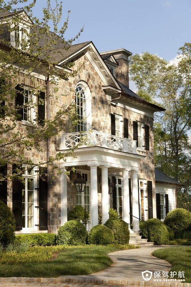 【干货】别墅外墙瓷砖与装修风格搭配