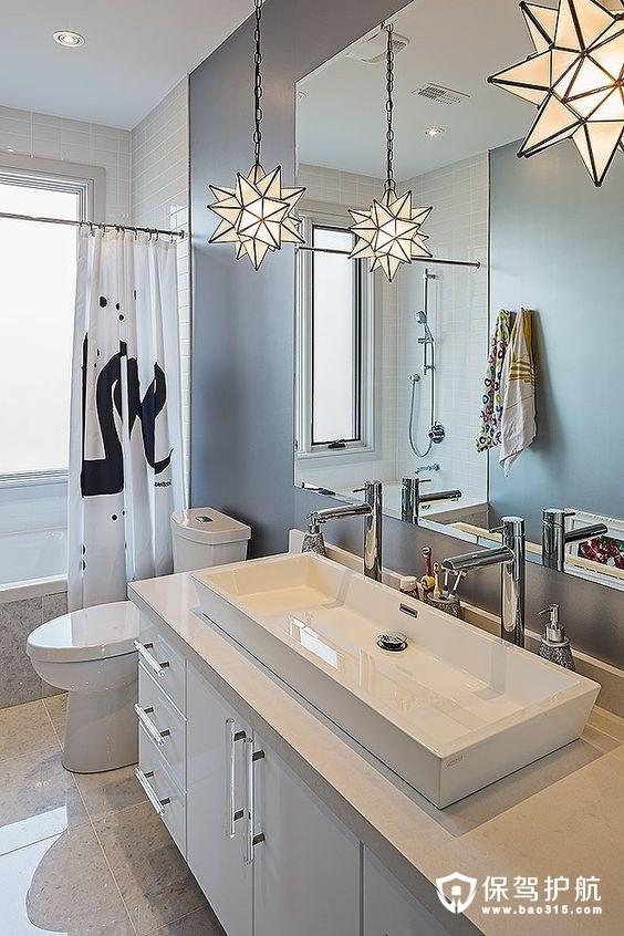 【赏析】10个适用于现代风浴室灯,让你眼睛怀孕!