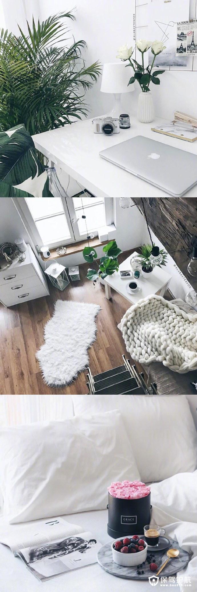 北欧风单身公寓装修的必备软装大盘点