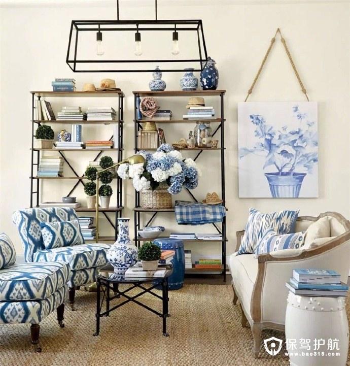 超级实用的美式客厅沙发背景墙设计范本
