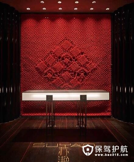 """【探店】 带你走进苏州""""苏滟""""中餐厅的设计"""