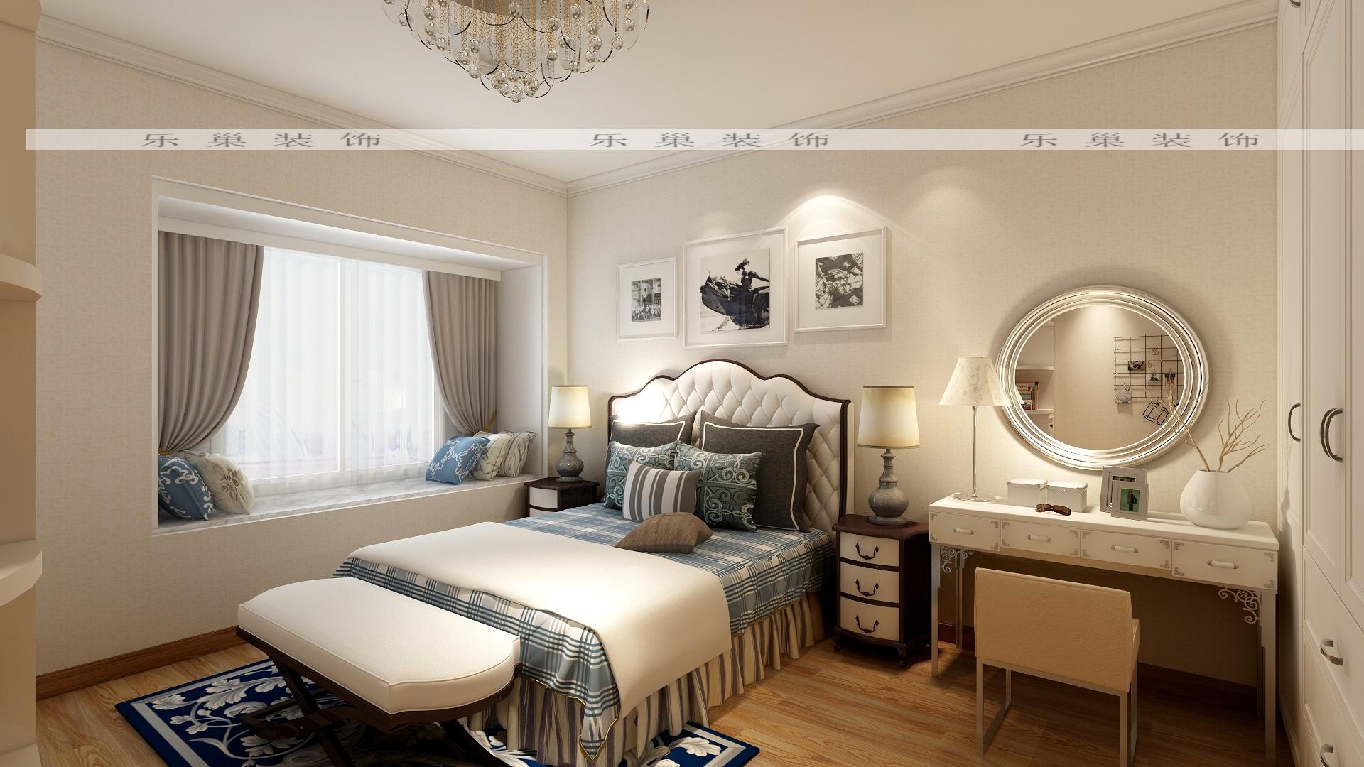 锦尚名苑112平方2房2厅欧式轻奢家装效果图