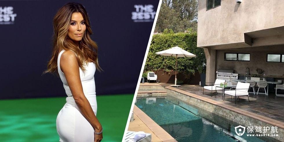 《绝望的主妇》女主伊娃·朗格利亚将她位于好莱坞山庄那栋后现代风豪宅出售,原因竟是...