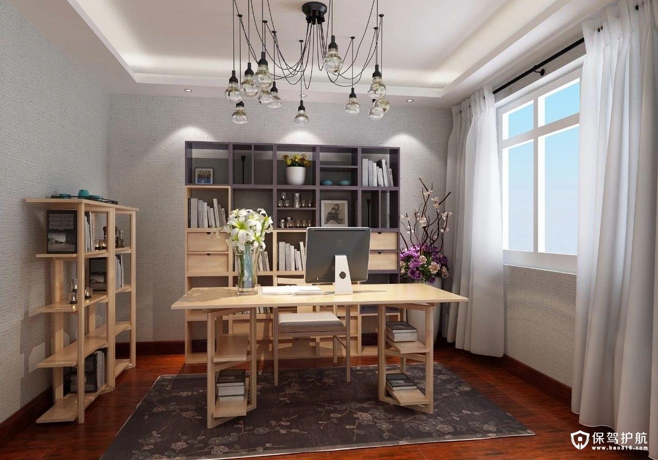 【设计】书房装修风格,一个让心灵沉淀的地方