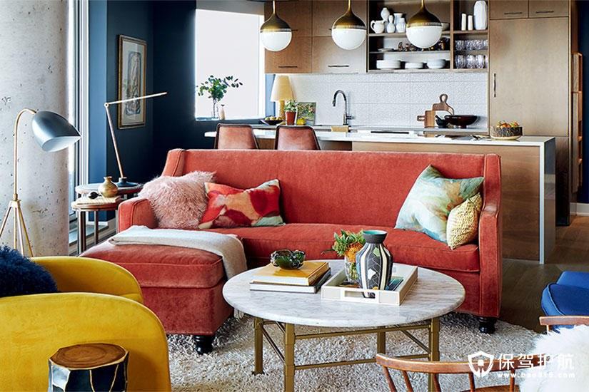 【赏析】一间明亮而温馨的混搭风格的公寓,反映了业主的独特品味
