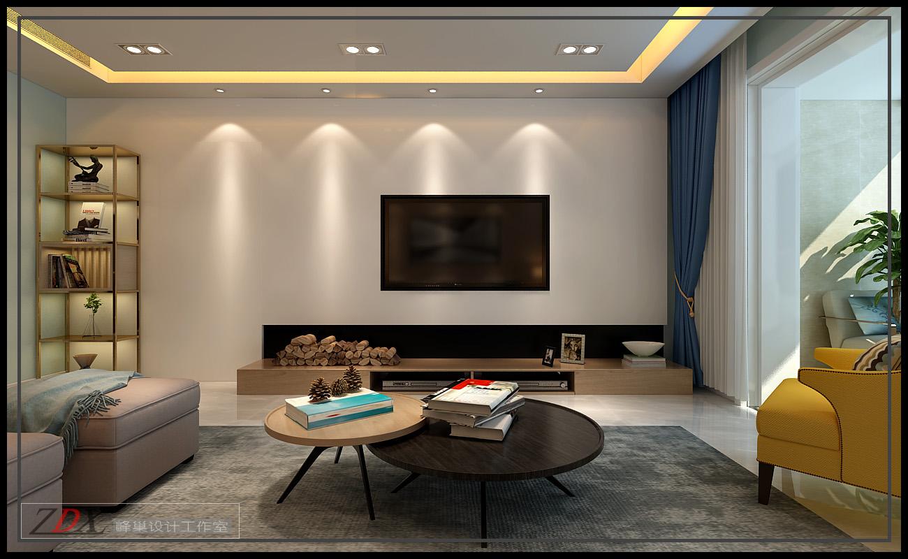济南隆悦公馆7号楼130平方现代风格装修效果图