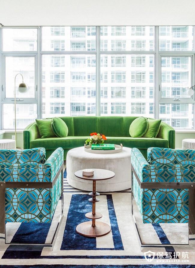 【赏析】色彩斑斓的中世纪现代公寓