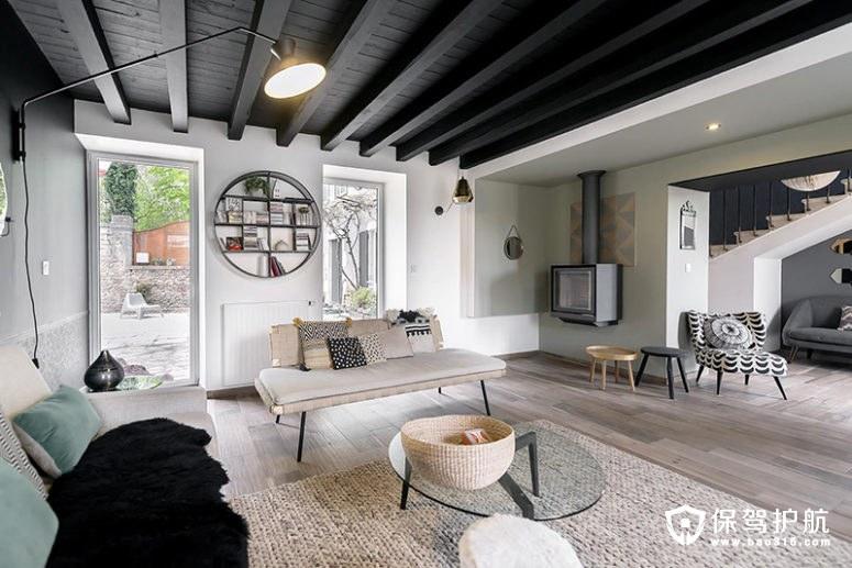 【设计】法国19世纪的复式住宅经设计师重新采用现代风装修再次惊艳亮相