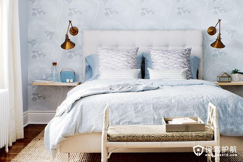 【案例】这样的卧室装修给你一个宁静的空间