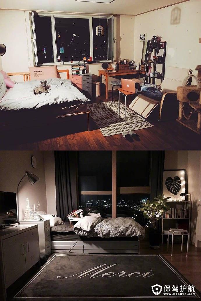 二人世界卧室,设计永远比面积重要!