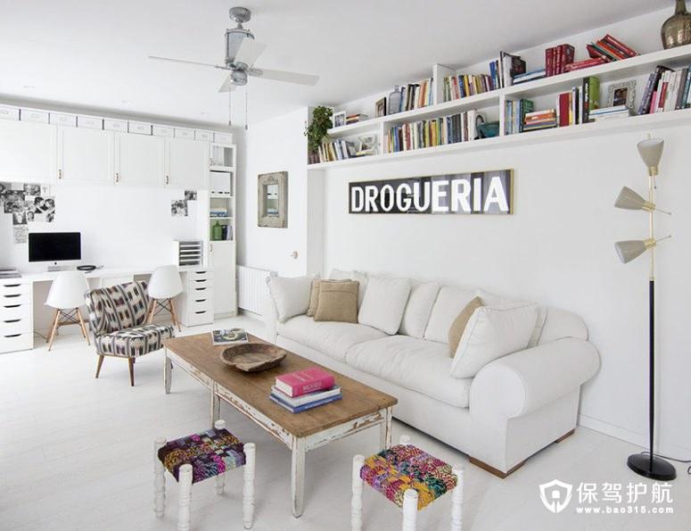 【案例】150㎡北欧风格装修,用了一堆破旧的家具效果竟然...