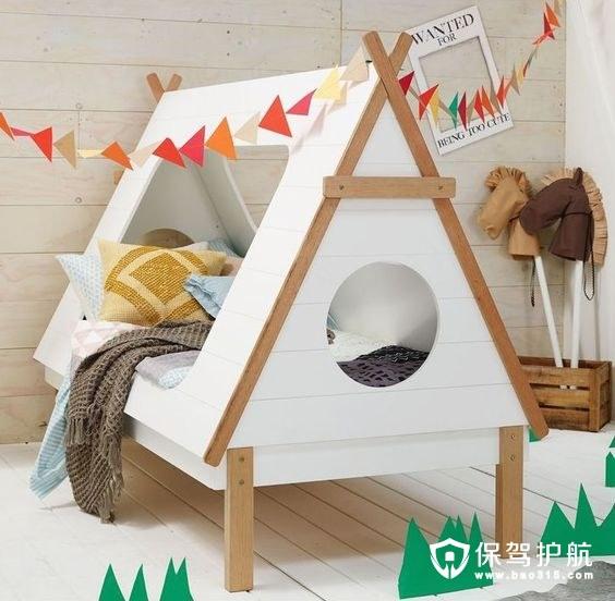 【家具】10個真正獨特的兒童床,舒適性與功能性并存!