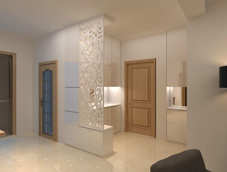 大气温馨的美式三居室,卫生间却是最大的败笔