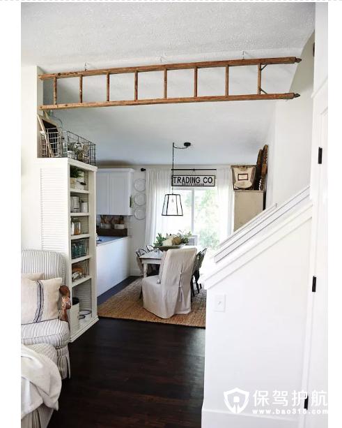 【家居DIY】10种方法教你如何将旧梯子变身为家居装饰