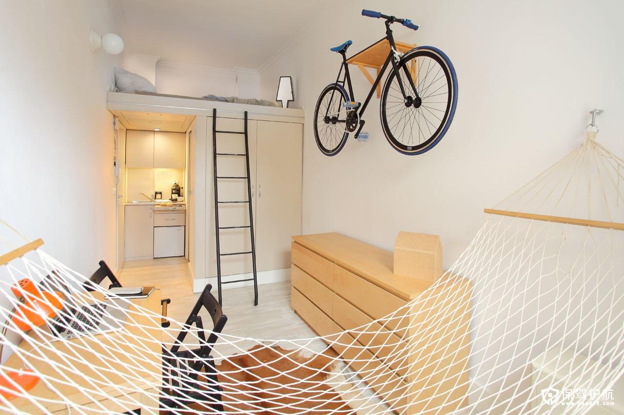 【设计】这里有拥有其巧妙设计的超小型公寓装修(上)