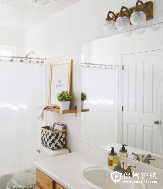 【设计】适合小卫生间的10款好看又有设计的浴室置物架
