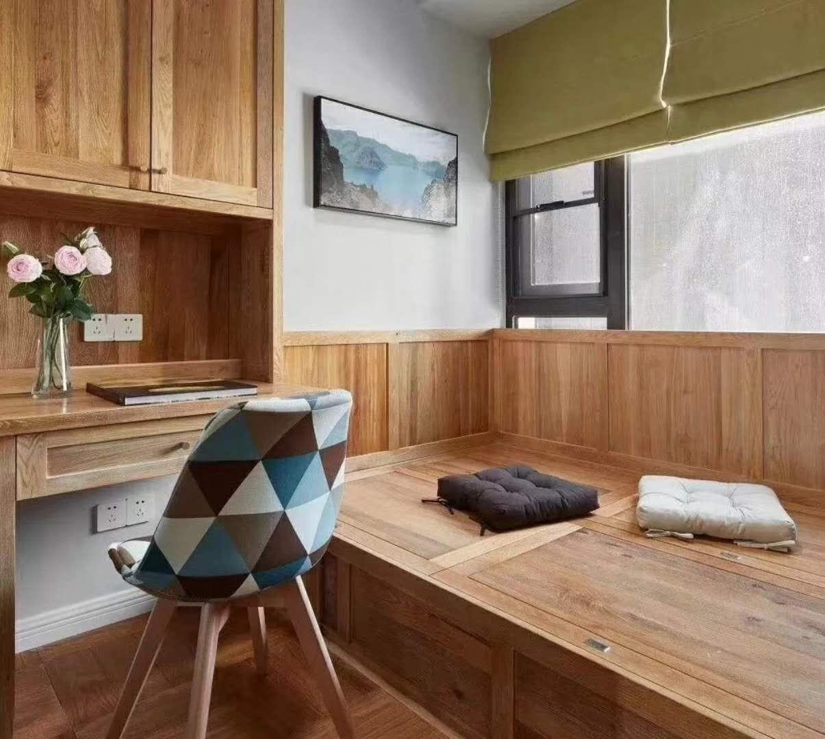 昆明中天城89平二居室北欧风格装修效果图