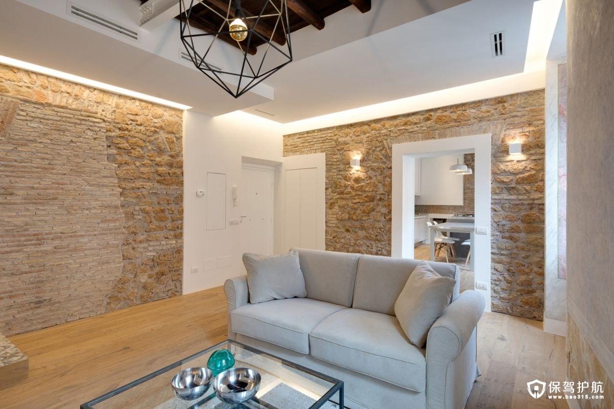 【设计】罗马公寓将乡村与现代完美结合的混搭风格装修,打造禅意生活!