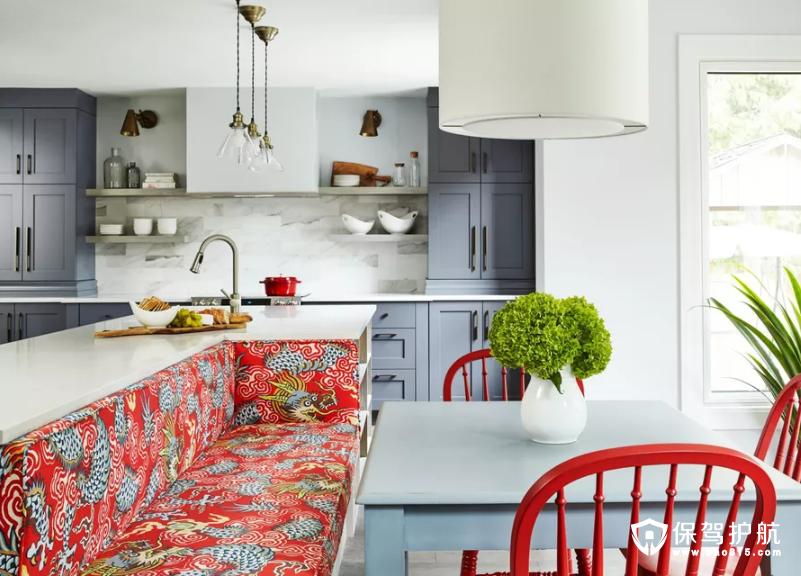 9款色彩缤纷的厨房设计,让你的烹饪空间更加明亮