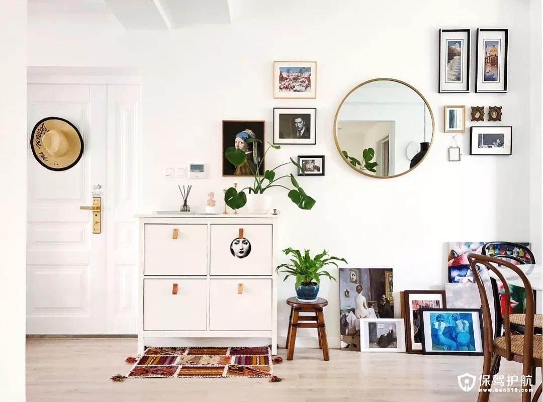 照片墙的设计,装满故事的家