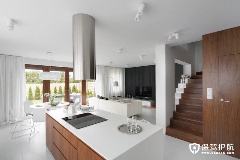 【设计】由简单对比定义的简约风格公寓装修