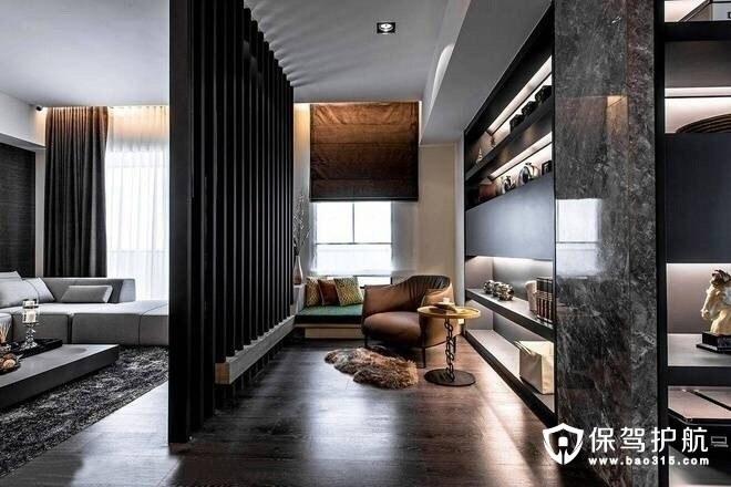 三房两厅装修中的现代简约风格的元素
