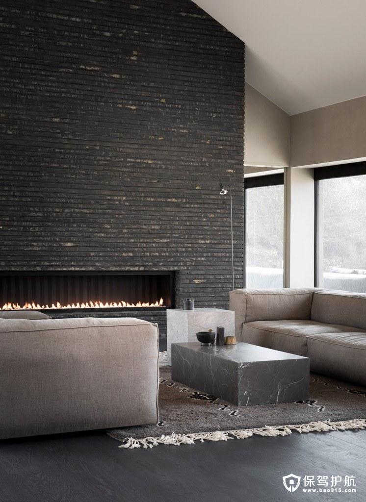 丹麦这间极简主义风格的公寓,像艺术品一样与自然完全和谐在一起