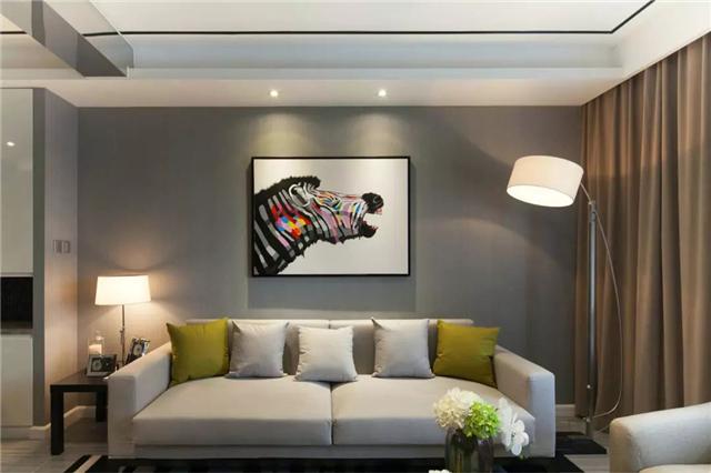 80平米现代风格两居室