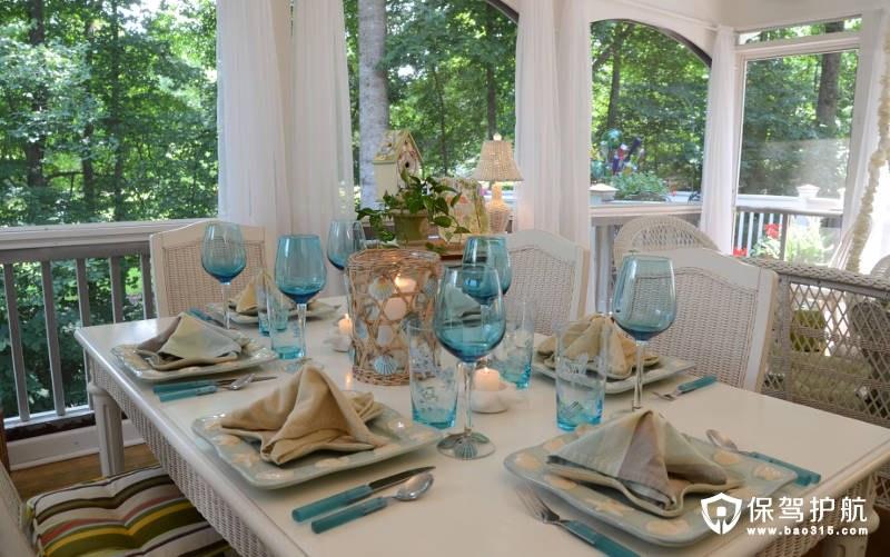 【家居装饰】地中海风格家居装饰想法打造一个无尽的夏天(三)