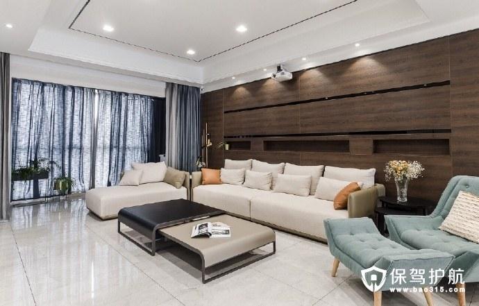 港式轻奢风格家居装修设计,体现主人对生活的姿态