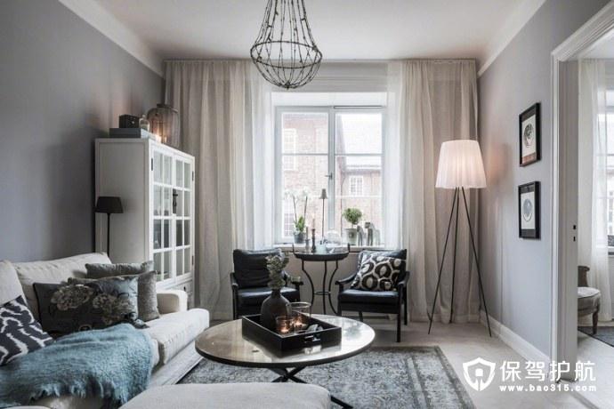 这个小户型的斯德哥尔摩家居设计,遇见北欧的温馨