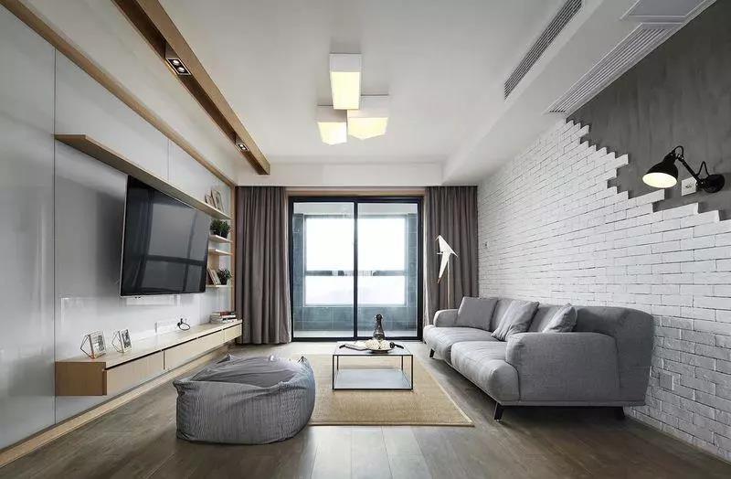 简约风格装修 将简洁舒适发挥到极致