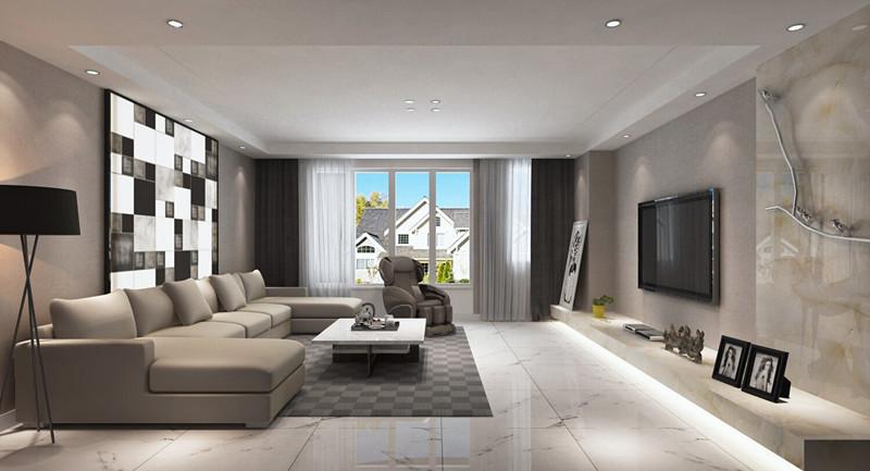 走轻奢路线的现代风住宅 唤醒你的视觉