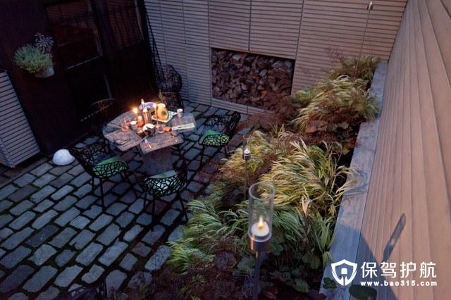 想和你一起在一个这样的庭院里浪费时光——庭院装修