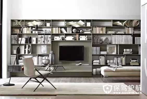有書的地方就有故事,所以家里有哪些地方可以做書房?——書房裝修