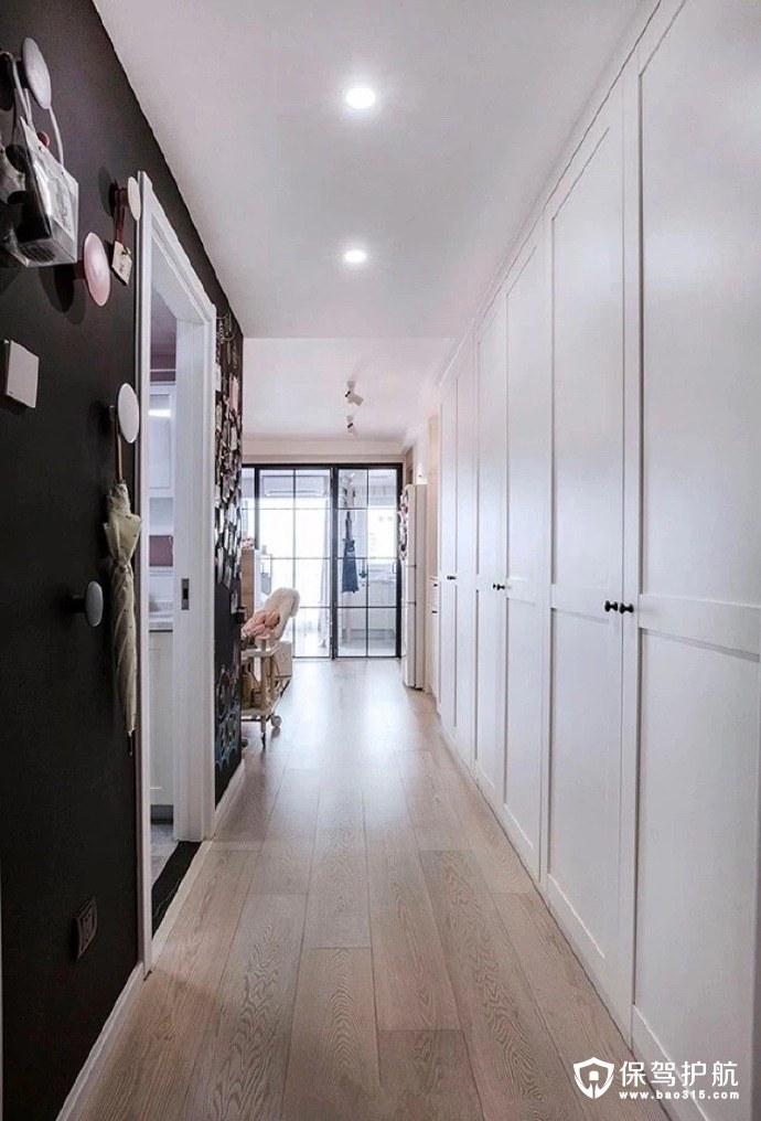 白+粉,35㎡北欧风格单身公寓装修!