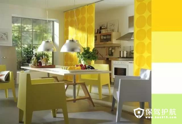 家居装修配色