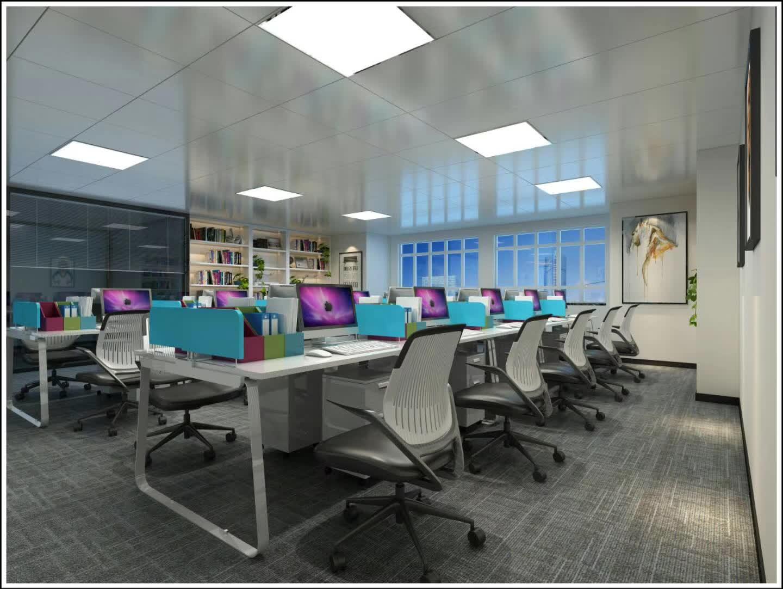 用现代风格打造宽敞明亮的办公场所